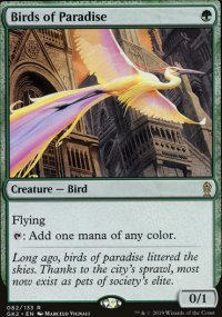 Birds of Paradise - Ravnica Allegiance - Guild Kits
