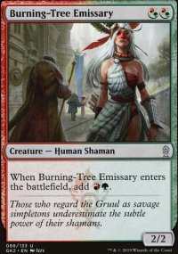 Burning-Tree Emissary - Ravnica Allegiance - Guild Kits