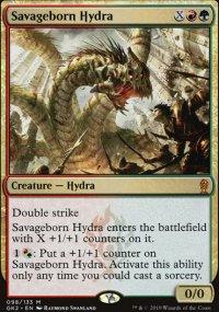 Savageborn Hydra - Ravnica Allegiance - Guild Kits