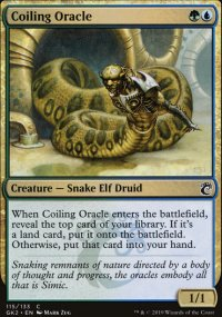 Coiling Oracle - Ravnica Allegiance - Guild Kits