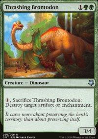 Thrashing Brontodon - Game Night