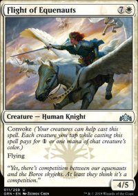 Flight of Equenauts - Guilds of Ravnica