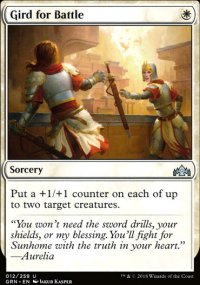 Gird for Battle - Guilds of Ravnica