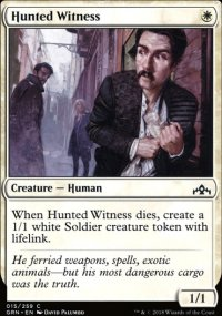 Hunted Witness - Guilds of Ravnica