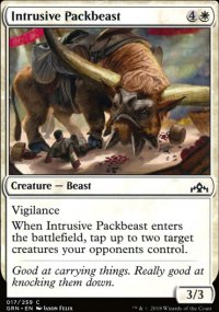 Intrusive Packbeast - Guilds of Ravnica