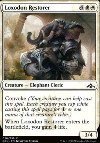 Loxodon Restorer - Guilds of Ravnica