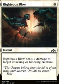 Righteous Blow - Guilds of Ravnica
