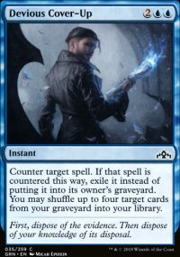 Devious Cover-Up - Guilds of Ravnica