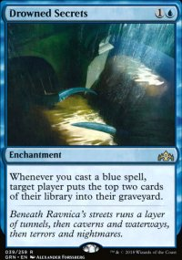 Drowned Secrets - Guilds of Ravnica