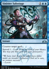Sinister Sabotage - Guilds of Ravnica