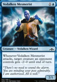 Vedalken Mesmerist - Guilds of Ravnica