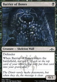 Barrier of Bones - Guilds of Ravnica