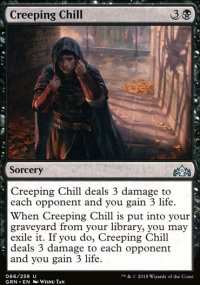 Creeping Chill - Guilds of Ravnica