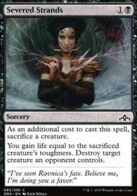 Severed Strands - Guilds of Ravnica