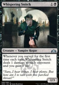 Whispering Snitch - Guilds of Ravnica