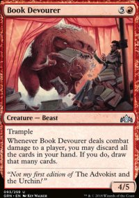 Book Devourer - Guilds of Ravnica