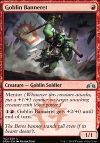 Goblin Banneret - Guilds of Ravnica