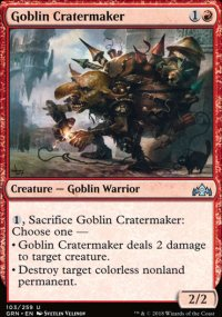 Goblin Cratermaker - Guilds of Ravnica