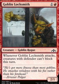 Goblin Locksmith - Guilds of Ravnica