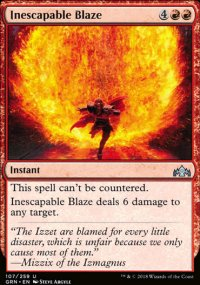 Inescapable Blaze - Guilds of Ravnica