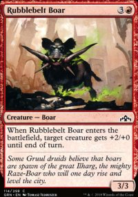 Rubblebelt Boar - Guilds of Ravnica
