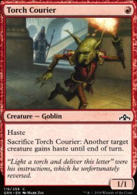 Torch Courier - Guilds of Ravnica