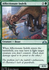 Affectionate Indrik - Guilds of Ravnica