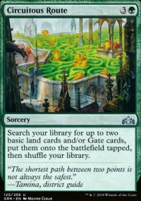Circuitous Route - Guilds of Ravnica