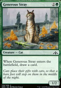 Generous Stray - Guilds of Ravnica