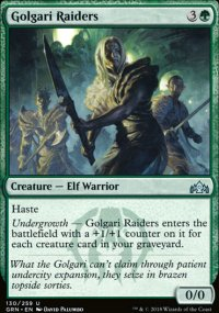 Golgari Raiders - Guilds of Ravnica