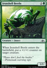 Ironshell Beetle - Guilds of Ravnica