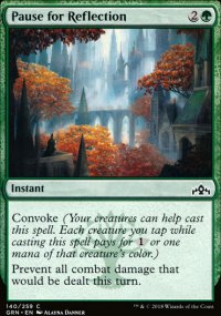 Pause for Reflection - Guilds of Ravnica