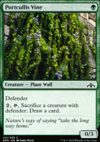 Portcullis Vine - Guilds of Ravnica
