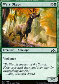 Wary Okapi - Guilds of Ravnica