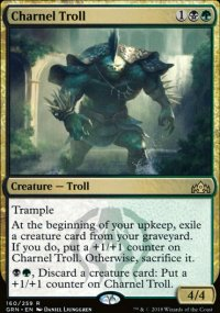 Charnel Troll - Guilds of Ravnica