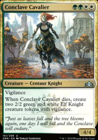 Conclave Cavalier - Guilds of Ravnica