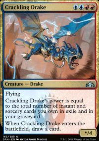 Crackling Drake - Guilds of Ravnica