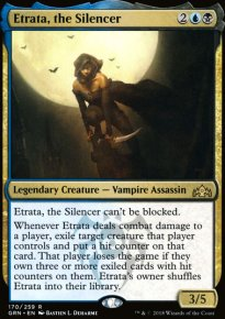 Etrata, the Silencer - Guilds of Ravnica