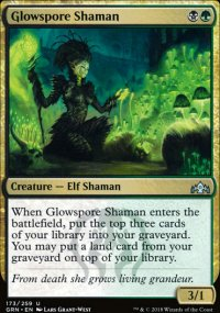 Glowspore Shaman - Guilds of Ravnica