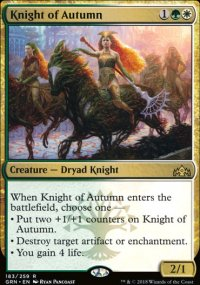 Knight of Autumn - Guilds of Ravnica