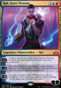 Ral, Izzet Viceroy - Guilds of Ravnica