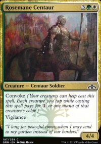 Rosemane Centaur - Guilds of Ravnica