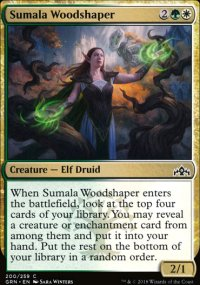Sumala Woodshaper - Guilds of Ravnica