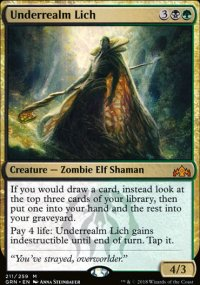 Underrealm Lich - Guilds of Ravnica