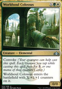 Worldsoul Colossus - Guilds of Ravnica