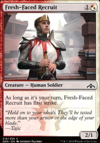 Fresh-Faced Recruit - Guilds of Ravnica