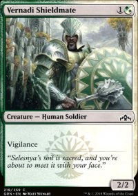 Vernadi Shieldmate - Guilds of Ravnica