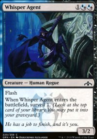 Whisper Agent - Guilds of Ravnica