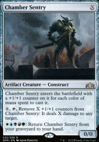Chamber Sentry - Guilds of Ravnica