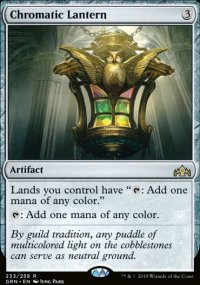 Chromatic Lantern - Guilds of Ravnica